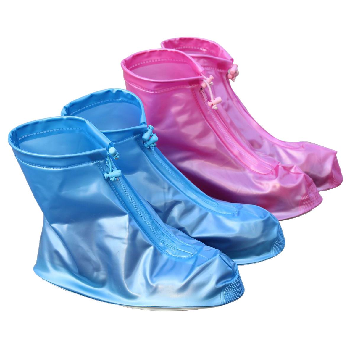 雨鞋套户外成人雨衣配套旅行雨鞋套非一次性雨衣男女加厚旅游雨鞋