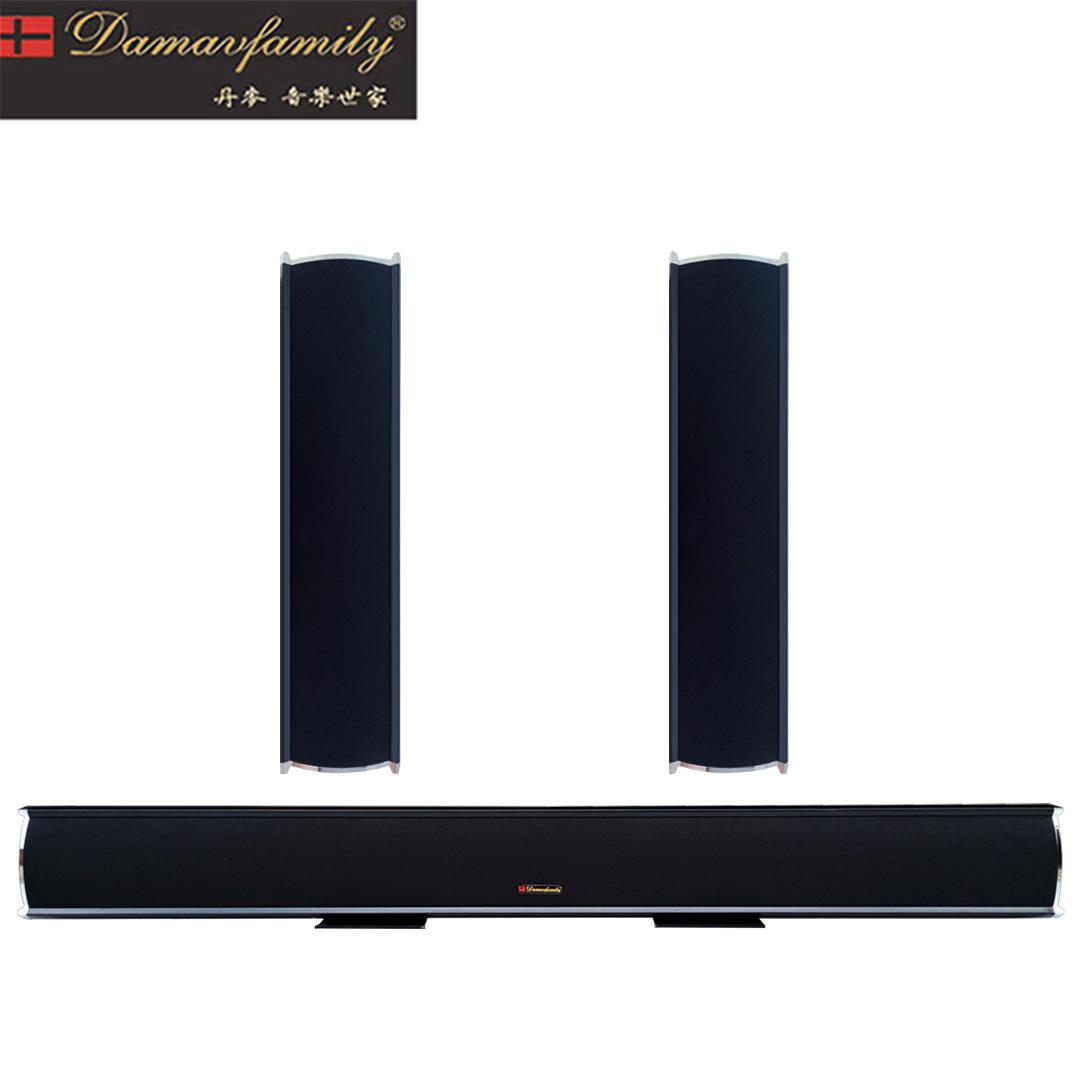 5.1回音壁音响 家庭影院音箱 电视家用音箱 中置环绕音箱无源音箱
