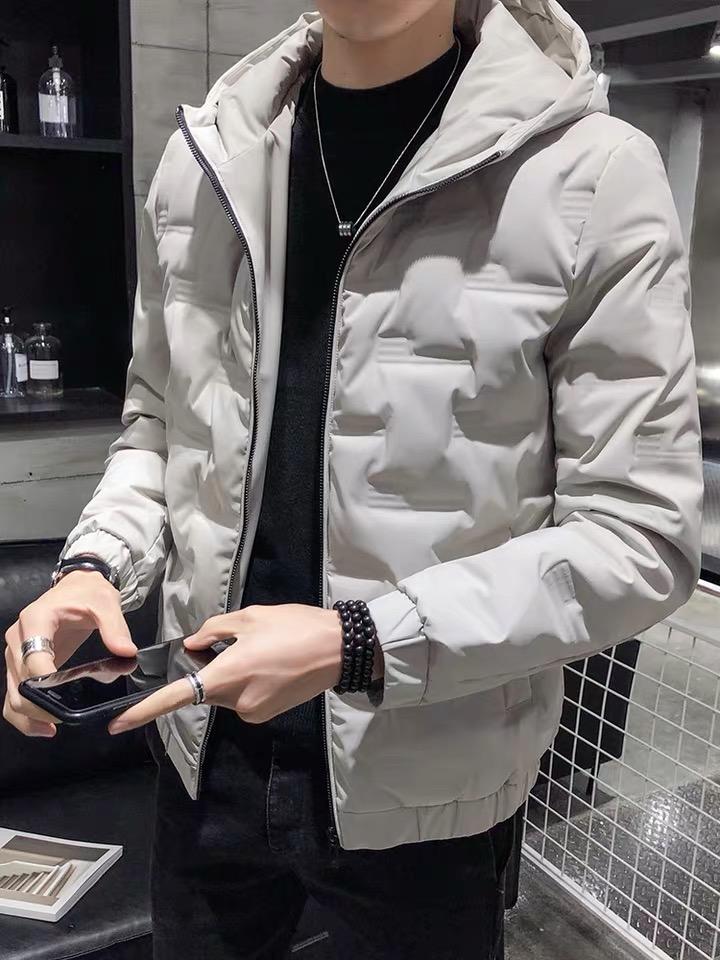 羽绒服 男士 外套 冬季 新款 潮流 轻薄 短款 帅气 冬装