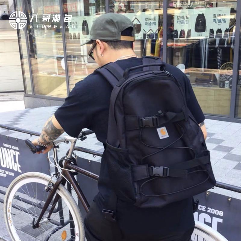 carhartt学生旅行包双肩大容量户外工装包双肩包尼龙男女防水书包