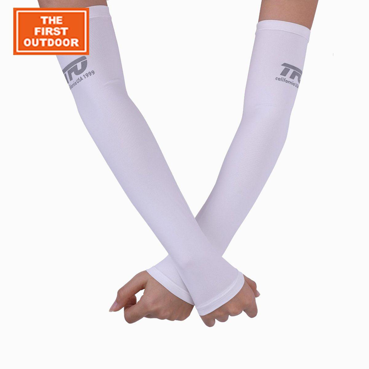 美国第一户外袖套男夏季冰丝凉滑护臂套骑行开车韩版防晒冰袖女