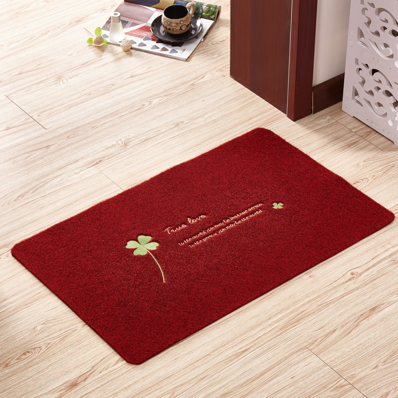 进门地垫入户蹭土门垫 厨房卫生间门口防滑吸水脚垫玄关地毯定制