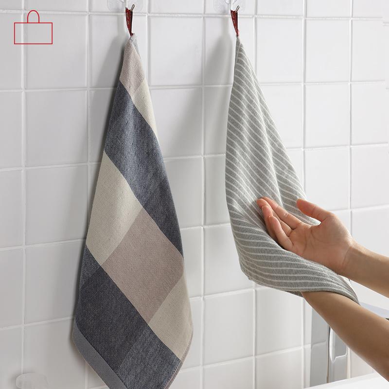 闪闪 日式 手巾 吸水 纯棉 厨房 毛巾 卫生间 浴室