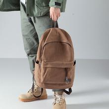 布叮堡cz款双肩包男dw约帆布包背包旅行包学生书包男时尚潮流