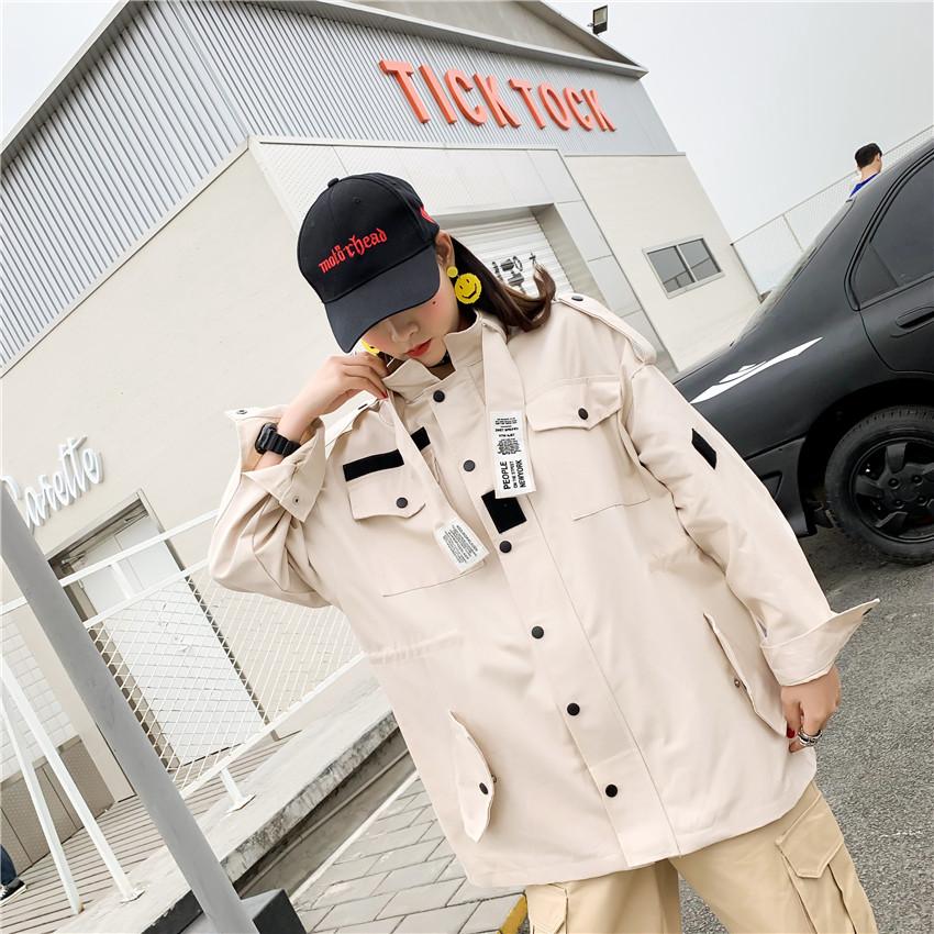 2019年春装新款原宿风学生装ins港风潮-思宇服饰-