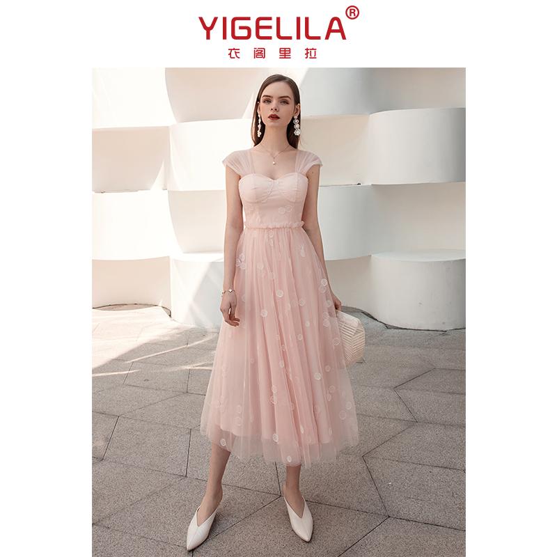 温柔风连衣裙2021年夏季两件套名媛气质仙女度假吊带裙防晒衣套装