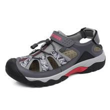 正品诺登户外沙滩鞋男涉水登山运hf12包头凉jw溯溪鞋拖鞋