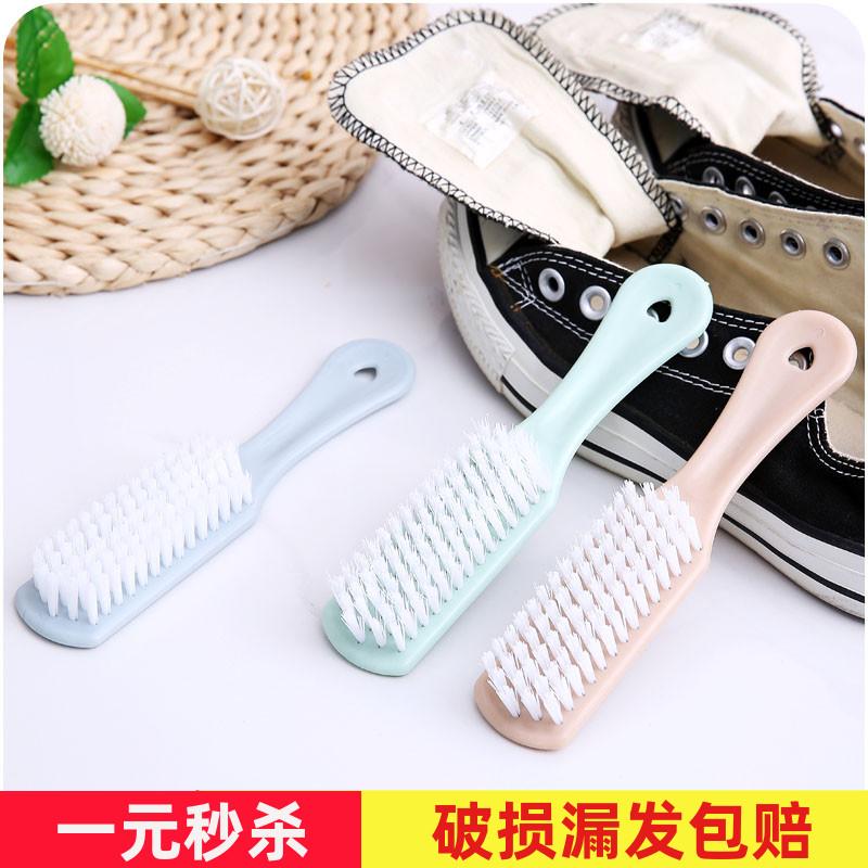 长柄刷可挂式软毛鞋刷 鞋内清洁刷子B812 擦鞋洗鞋子刷子 衣领刷