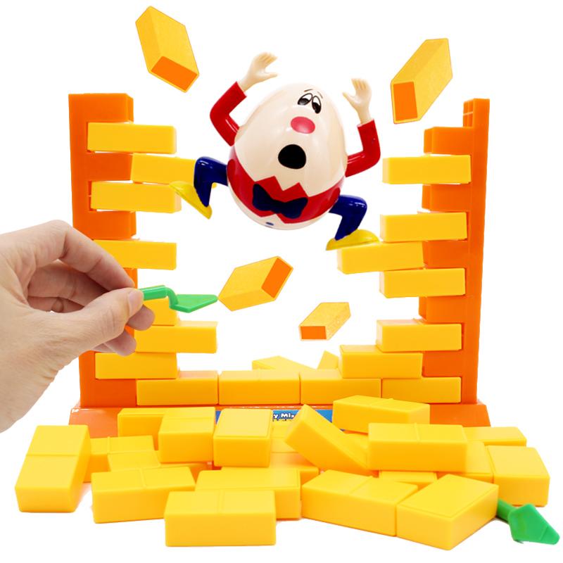 小乖蛋拆墙游戏推墙桌游儿童亲子互动玩具益智敲打企鹅冰块积木