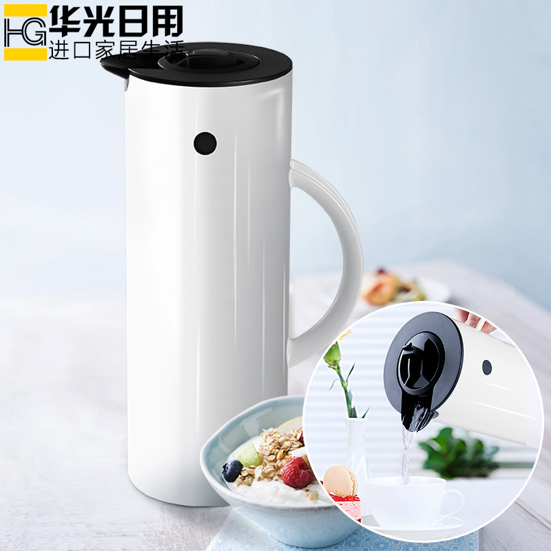 Japanese Woodpecker vacuum insulation kettle household glass inside bold Thermos bottle student dormitory large capacity cold kettle