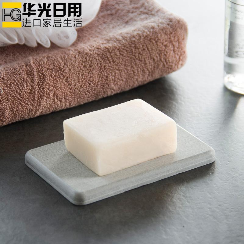 日本正品复古皂托硅藻泥肥皂盒防霉香皂盒日式吸水速干皂垫肥皂架