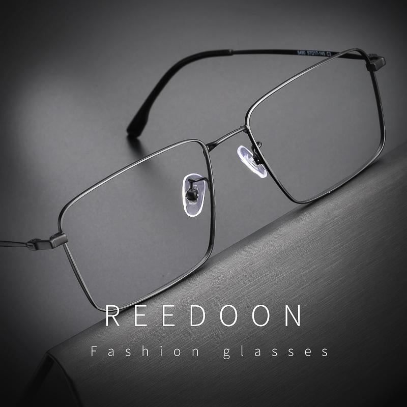 防蓝光辐射眼镜框男无度数商务平光镜架电脑护目近视眼睛2019新款