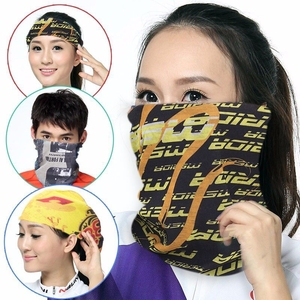Magic turban men's and women's outdoor seamless towel sunscreen windproof sports sweat-absorbent bib riding equipment clothing