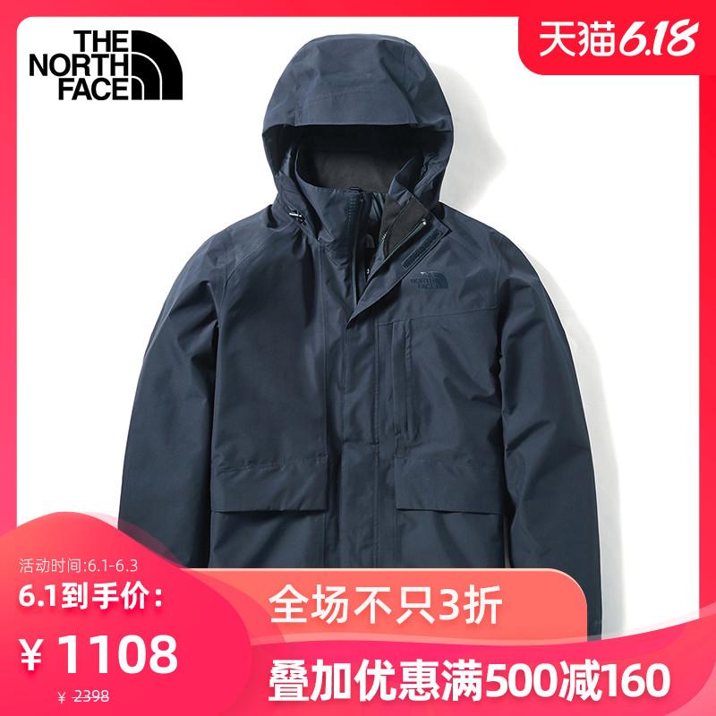 【经典款】TheNorthFace北面冲锋衣男户外防水透气上新|46L6