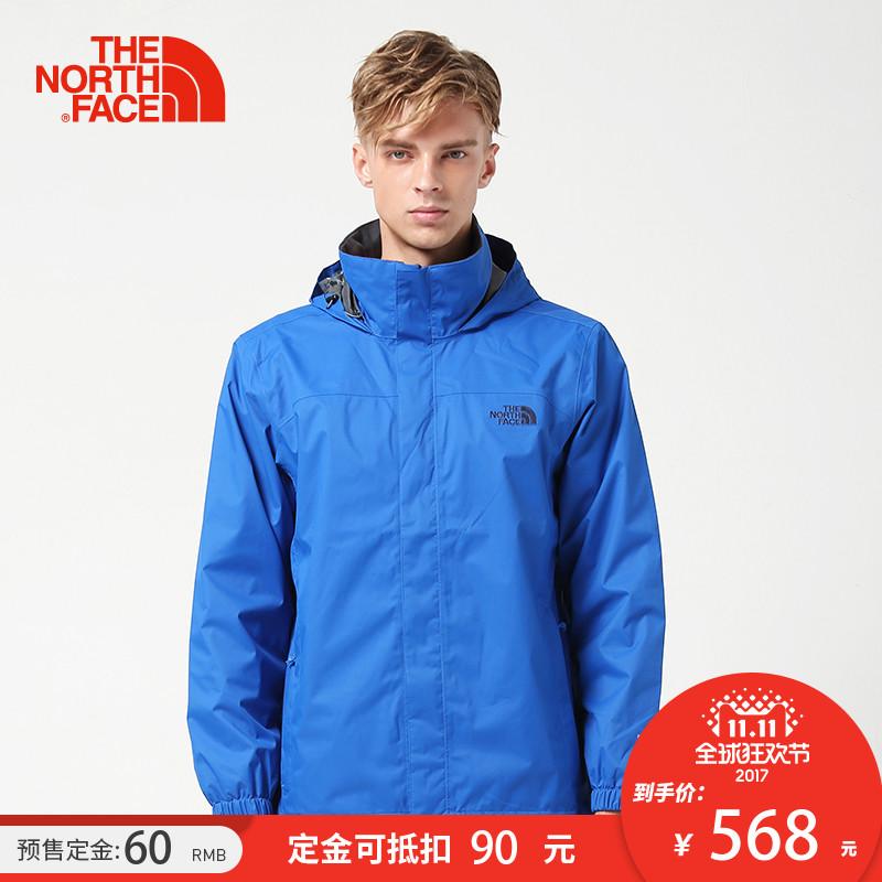 预售【经典款】TheNorthFace北面秋冬新品防水透气男冲锋衣|3CG1