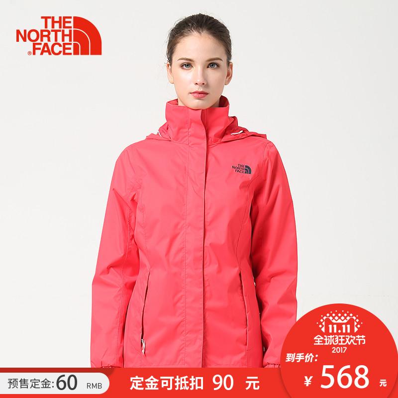 预售【经典款】TheNorthFace北面秋冬新品防水保暖女冲锋衣|3CGN
