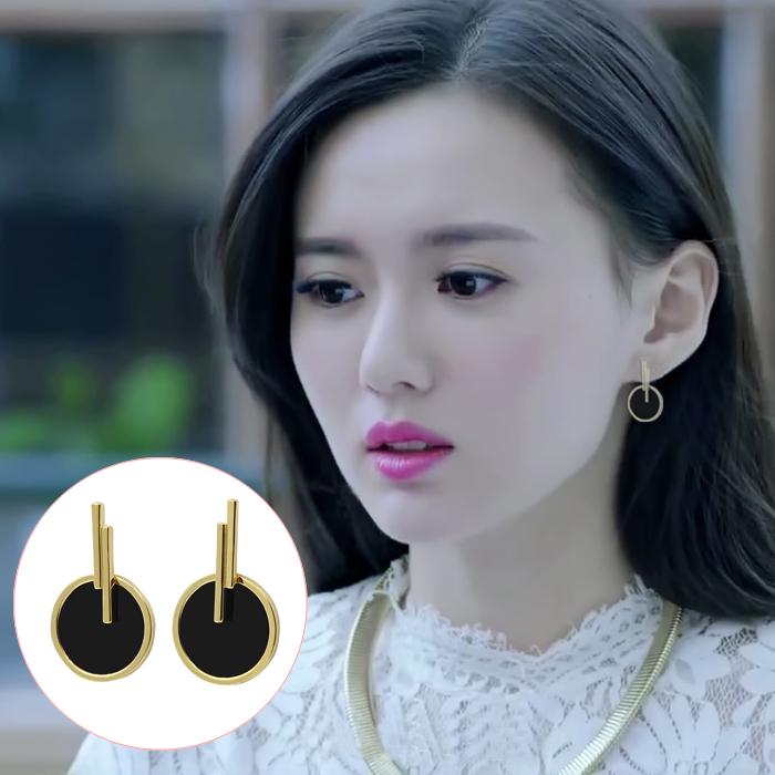 暖爱江铠同霍栀同款耳环韩国气质个性超仙夏至未至颜末同款耳环