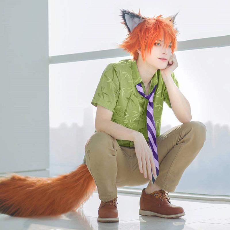 点击查看商品:【亲漫园】疯狂的动物城狐狸尼克cos服漫展年会派对cosplay服装全