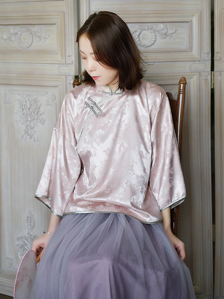 改良旗袍民国风女装汉元素中国风原创设计复古少女唐装古风汉服女