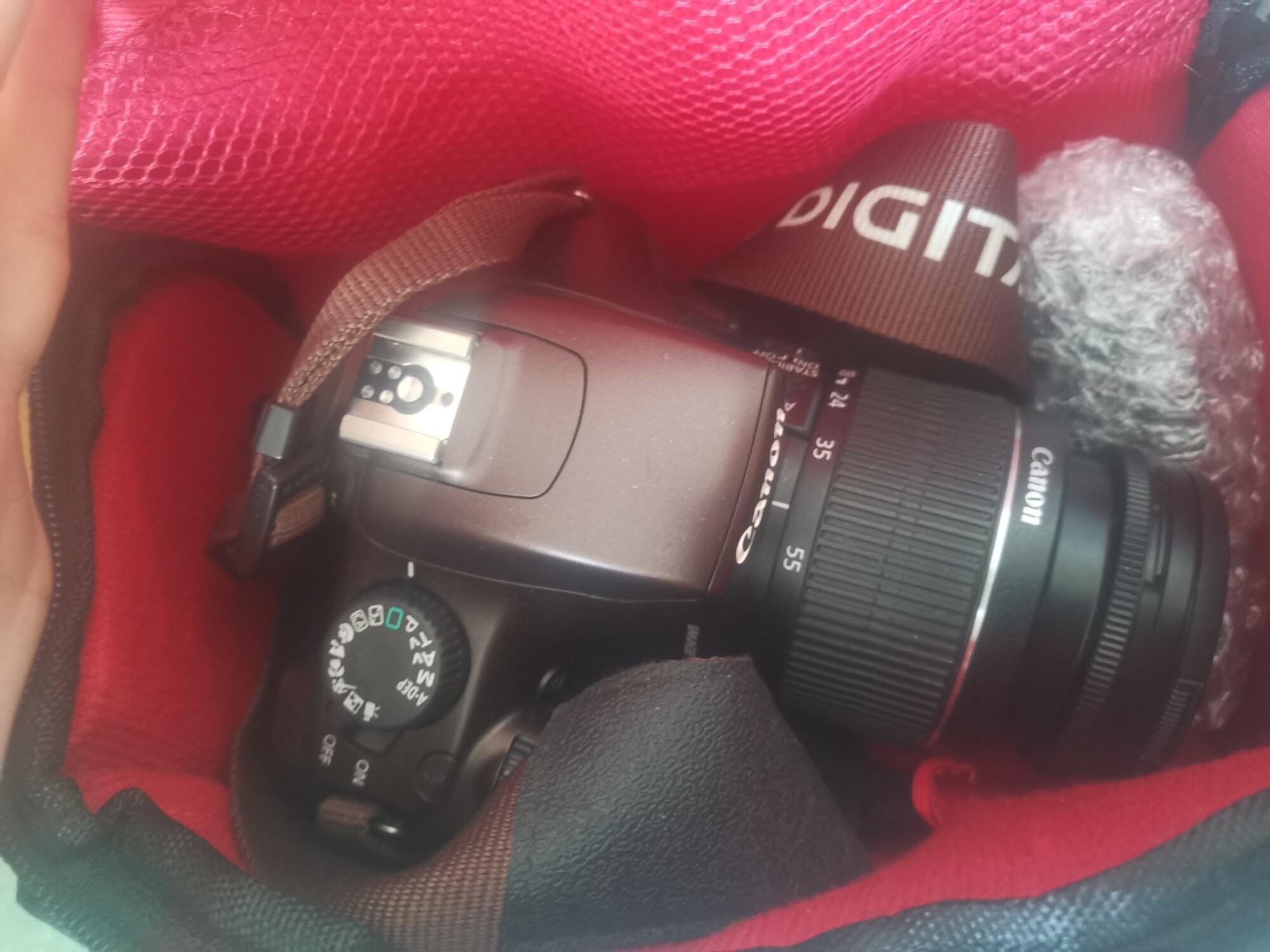 【可换bjd】佳能单反相机1100D棕色套机