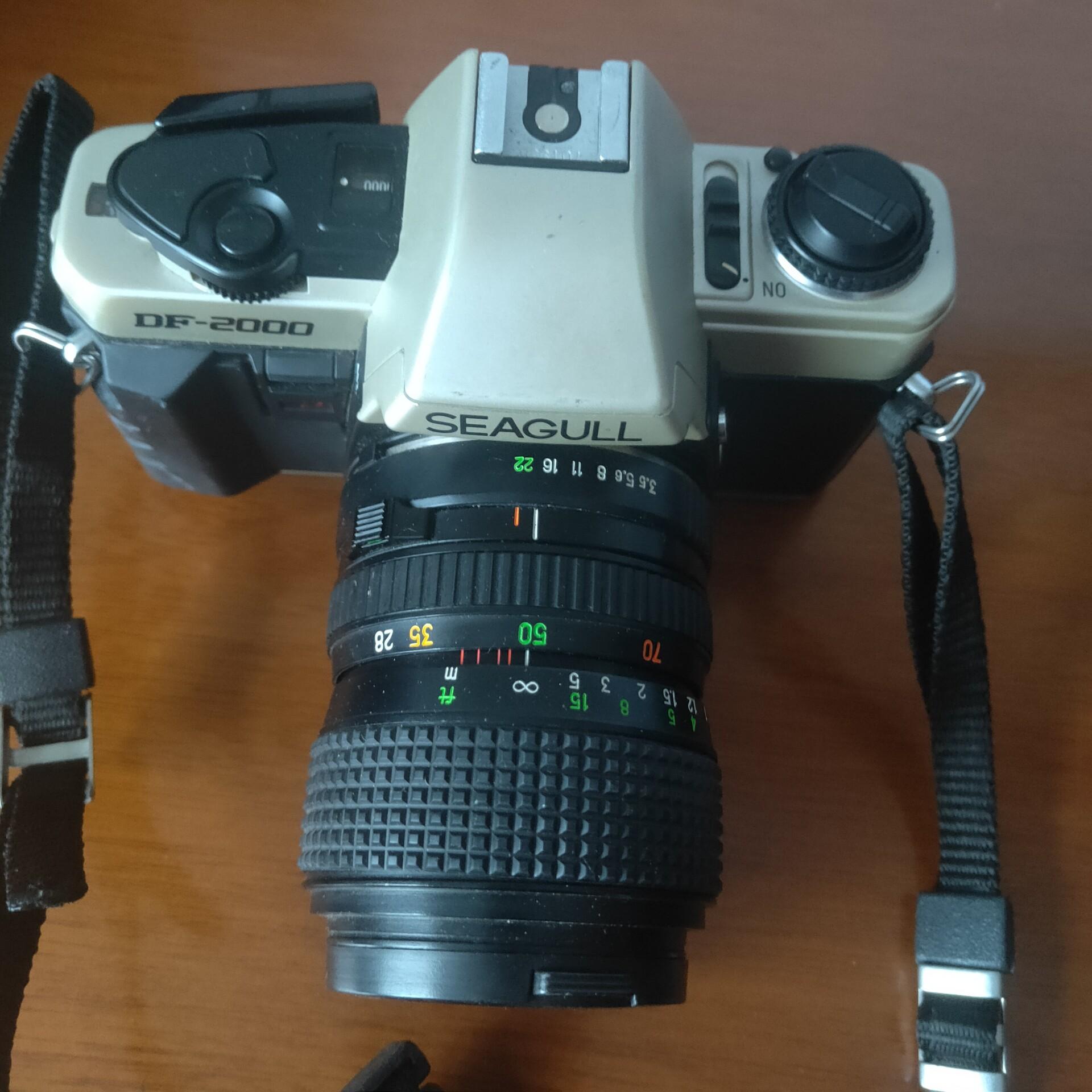 海鸥胶卷相机DF–2000品相完好,朋友送的机器,我不会玩,