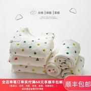 新生婴儿衣服春秋冬季内衣打底夹棉薄棉和尚分体初生宝宝保暖套装