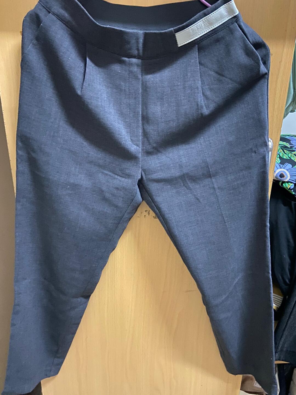 灰色西装裤 九新 韩货