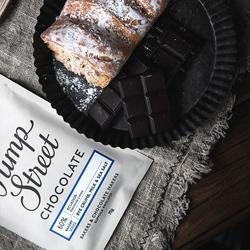 Pump Street英国66%面包碎海盐进口黑巧克力排块 可可脂70g
