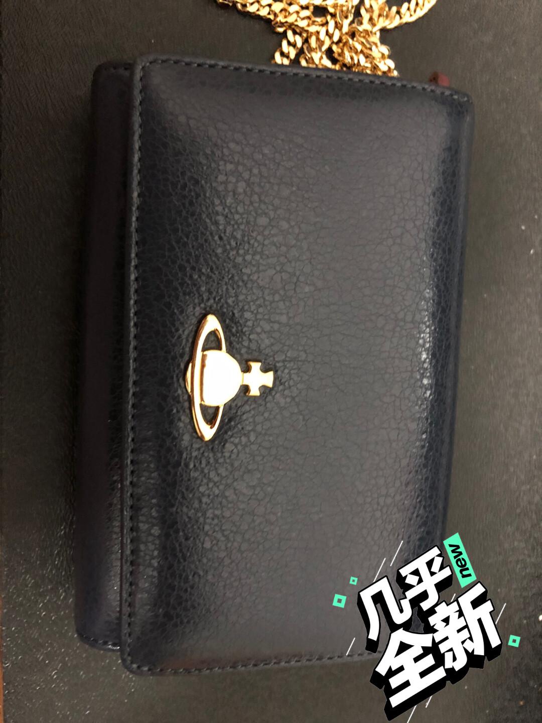 西太后 Westwood小土星钱包,几乎全新,链条是自己配的
