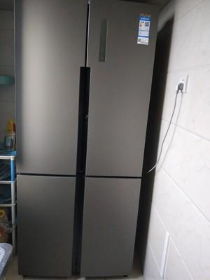 请问真实评测电冰箱海尔BCD521WSGKU1怎么样,保鲜效果看了就不会后悔!