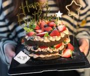 草莓网红生日蛋糕石家庄郑州沈阳天津北京哈尔滨大连合肥同城配送