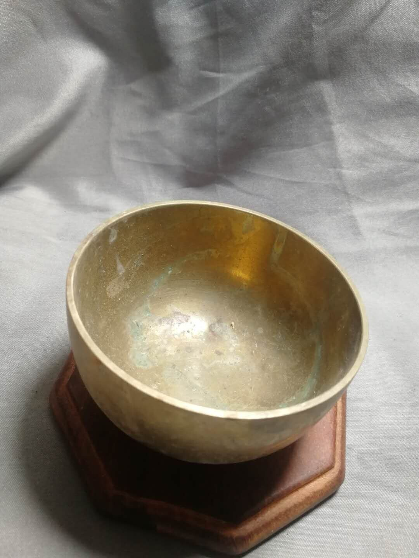 日本回流铜钵佛音钵摆件铜器回流铜器,厚重纯铜,音质清脆悦耳很