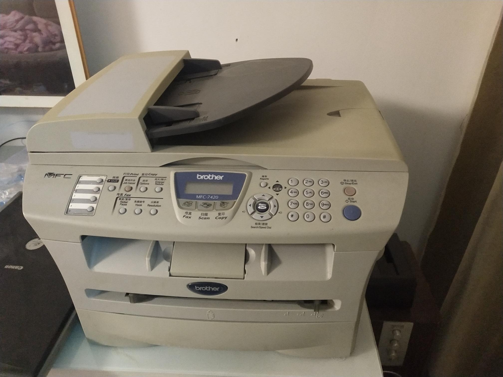 兄弟复印机,打印,复印,打描,传真,小孩打印作业的,毕业用不