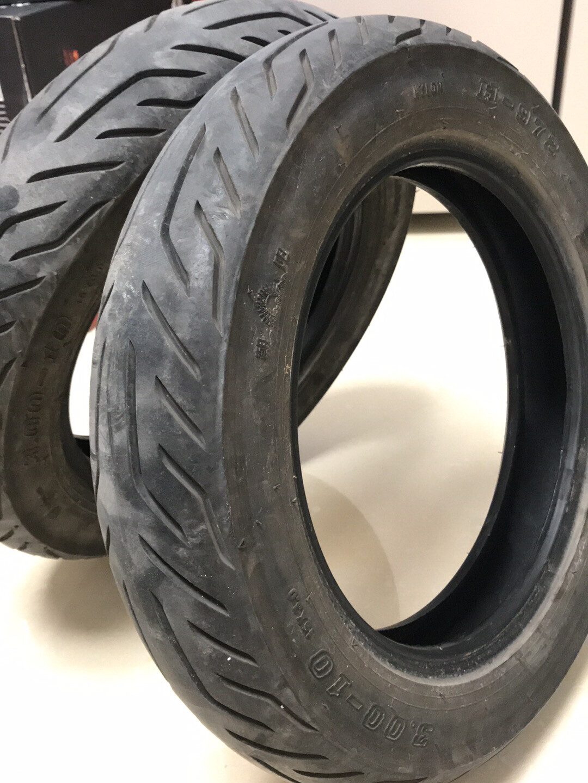 小牛M+原装10寸前后轮胎