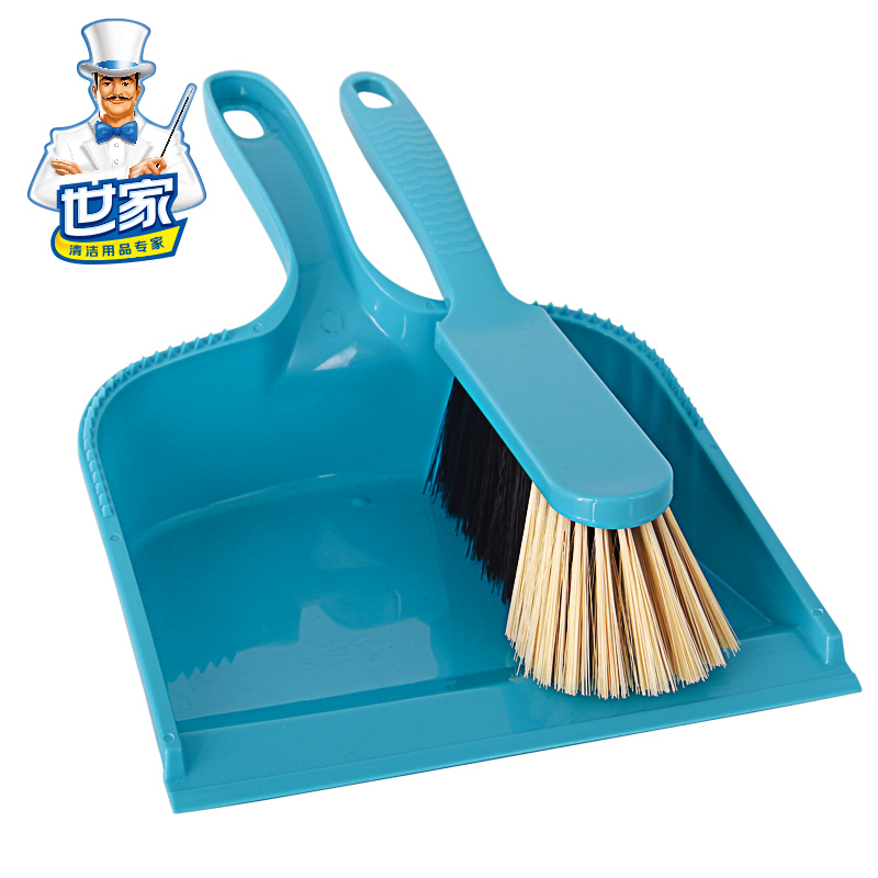 世家 小扫把 簸箕 扫帚 畚斗 套装 家用清洁扫地工具包邮21324