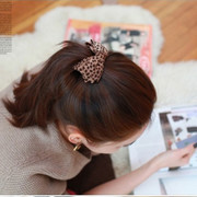 Good jewelry hair jewelry Korean fabric fritillary first clip caught twisting the banana clip catch envelope mail