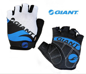 Giant bike silicone riding gloves thickened half finger breathable non-slip equipment summer men and women wear-resistant shock absorption