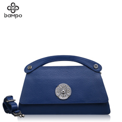 2015 new Banpo decorated original art handbags fashion leather suede leather shoulder handbag