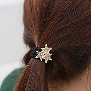 B021 good jewelry Korea hair Jewelry Diamond star Pentagram Ring band