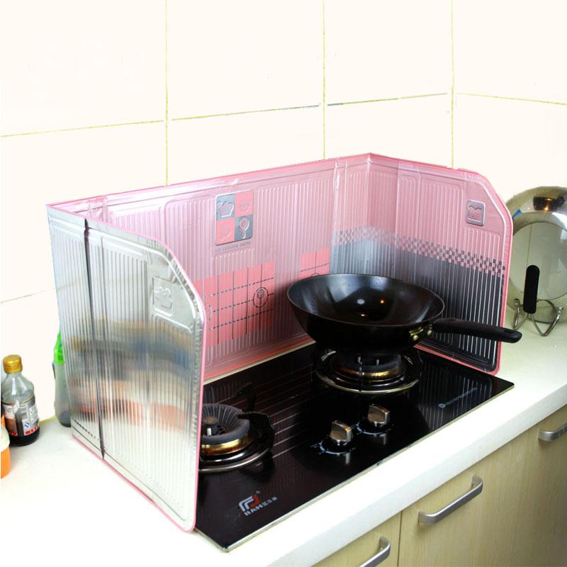 日本创意厨房用品档油板隔油铝箔防油挡板灶台挡板隔油挡板挡油板