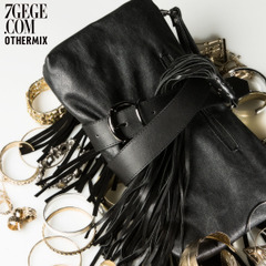 Seven space space OTHERMIX street fashion leisure match hundred decorated female ornaments fringed leather waist belt