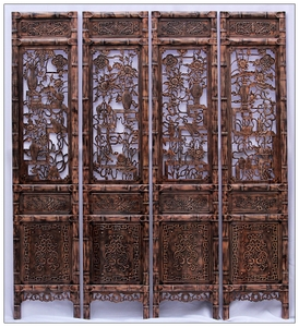 Screen partition folding screen living room bedroom porch room entrance hall Chinese retro solid wood folding mobile residential furniture