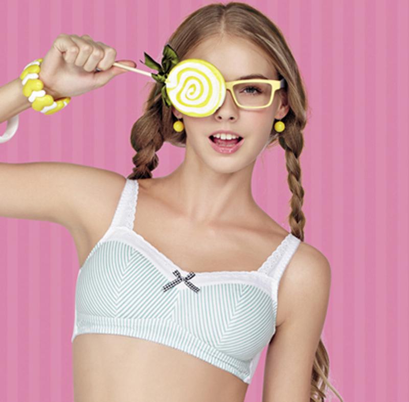 11岁发育少女内衣小背心-11岁发育图片