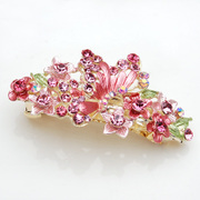 Smiling butterflies say Korean Barrette clip hair accessories Korea top clamp horizontal clamp headdress ornament 363715