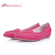 Non spring increases within the new stylish rivets pointed Sheepskin Shoes high women shoes WHA6A0602C