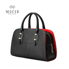 Retro bag handbag fall 2015 Europe fashion OL simple cross pattern handbag women bag