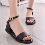 Ting Qi Princess 2015 New Roman Sandals boho summer student casual and comfortable open toe shoes