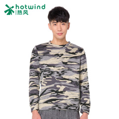 Hot spring and autumn men's College wind Turtleneck Sweater City boy Camo long sleeve casual coat men 20W5704