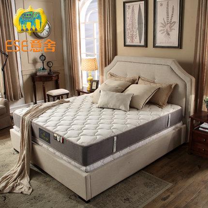 意舍玛歌进口乳胶床垫1.5 1.8米弹簧椰棕垫软硬定做席梦思床垫