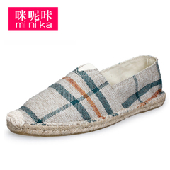 Microphone Ta spring 2016 leisure shoes flat lazy fisherman shoes feet shoes asakuchi sneakers women boomers
